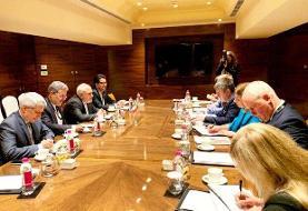 وزرای خارجه ایران و استونی دیدار کردند/ برجام محور رایزنیها