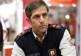 آماده باش آتش نشانان تهران در روز انتخابات مجلس