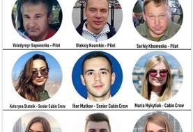 هویت کادر پرواز هواپیمای اوکراینی شناسایی شد +عکس