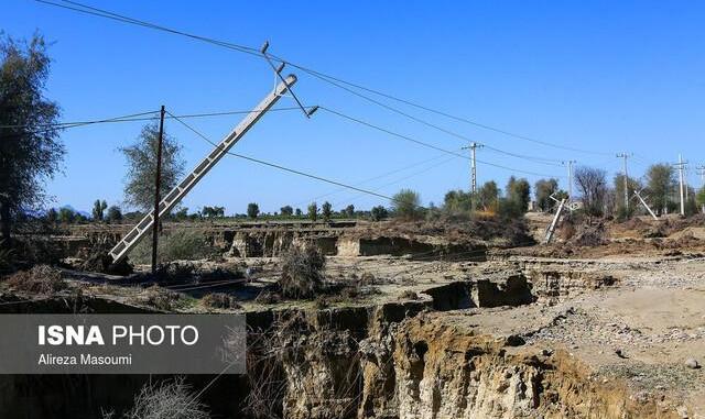 تداوم قطعی آب در برخی روستاهای سیلزده سیستان اما برق تمامی روستاها امشب وصل میشود: خسارت ۶۱۳ میلیارد تومانی به کشاورزی
