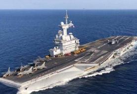 فرانسه ناو هواپیمابر به غرب آسیا میفرستد