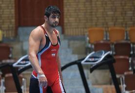 خط و نشان محمدیان با ضربه فنی قهرمان المپیک از آمریکا