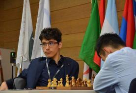 صدر نشینی فیروزجا در بین قدرتهای شطرنج جهان