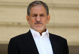 توصیه توئیتری جهانگیری با هشتگهای هاشمی رفسنجانی و سردار سلیمانی