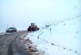 گزارش وضعیت راهها | برف و باران در جادههای ۱۸ استان
