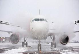 لغو پروازهای فرودگاه مهرآباد به دلیل وضعیت نامساعد جوی