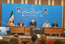روحانی: نداشتن تلفات جانی در سیل سیستان و بلوچستان برای دولت افتخار است