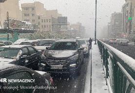 ترافیک سنگین در تمامی محورهای منتهی به پایتخت