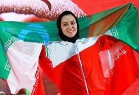 رکوردشکنی بانوی دونده ایران در ۶۰ متر