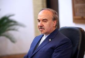 اعتراض شدید وزیر ورزش به تصمیم کنفدراسیون فوتبال آسیا