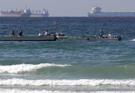 توقیف ۳ قایق صیادی غیرمجاز کویتی در بندر ماهشهر