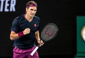 رکوردشکنی فدرر در شروع تنیس اپن استرالیا