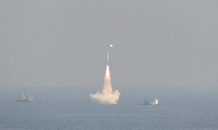 آزمایش موففیتآمیز موشک بالیستیک زیرآبی هند