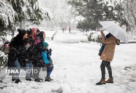 برف، دومین عامل بهبود کیفیت هوا