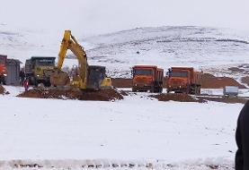 آغاز عملیات اجرایی احداث ایستگاه راهآهن سنندج