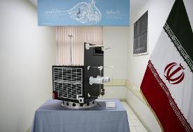 (تصاویر) مراسم تحویل ماهوارههای ظفر ۱ و ۲