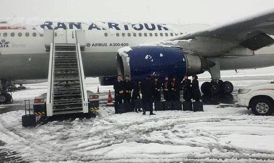لغو تمامی پروازهای فرودگاه مهرآباد: سرگردانی مسافران