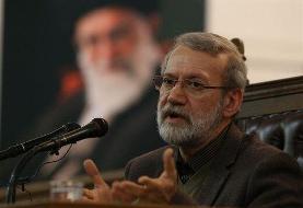 تحلیل لاریجانی از سخنان مهم رهبر انقلاب در خطبه های نماز جمعه