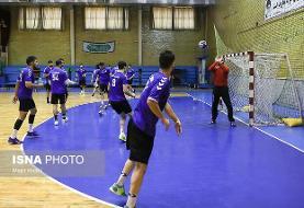 انتخاب دروازهبان هندبال ایران بهعنوان بهترین بازیکن مقابل کویت