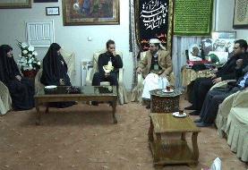 حضور سفیر یمن در منزل سردار شهید سلیمانی