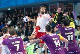 لژیونر هندبال ایران بازی با قطر را از دست داد