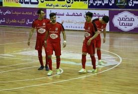 خداحافظی محمد سیما با لیگ ٩٨ / شکست سنگین در پیروزی
