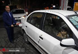 سهمیه بنزین خودروها ساعت ۲۴ امشب واریز میشود
