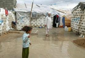 شرم سیلاب در مقابل فقر بلوچستان+تصاویر