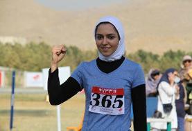 رکورد جدید بانوی دونده ایران رسما ثبت شد