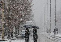 آغاز بارش&#۸۲۰۴;های تهران به صورت برف و باران از فردا