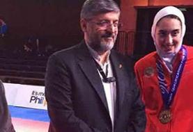 رئیس فدراسیون تکواندو: کیمیا علیزاده تا سه سال نمیتواند برای کشور ...