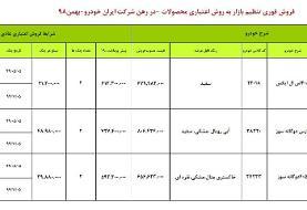فروش اقساطی ایران خودرو  ویژه ۱ و ۲ بهمن+ شرایط