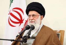 آیت الله خامنه ای: ایستادگی ملت ایران آمریکا را عصبانی کرده و برای دنیا جذاب است
