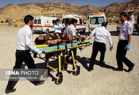 ۱۶ کشته و مصدوم در واژگونی اتوبوس در قم