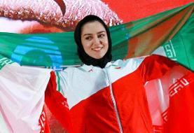 ثبت رکورد جدید ۶۰ متر بانوان ایران با درخشش فصیحی