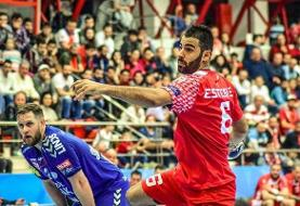 مصدومیت لژیونر هندبال ایران در بازی برابر کویت