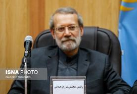 لاریجانی: سپاه همه اقدامات خود را برای کمک به مردم بسیج کرد/ مردم نهایت همکاری را داشته باشند