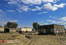 آسیب سیل به شبکه توزیع برق بشاگرد/ قطع ارتباط زمینی با ۱۳ روستا/ امدادرسانی با بالگرد