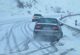 نجات ۱۰۰ مسافر در برف و کولاک استان فارس