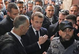 'Go outside': France's Macron berates Israeli police at Jerusalem church