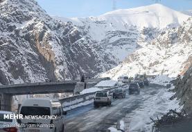 اعمال محدودیتهای ساعتی ترافیک در قطعه یک آزادراه تهران – شمال