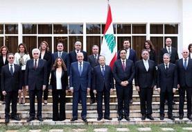 عکس | دولت جدید لبنان را بشناسید | حضور ۶ وزیر زن برای نخستین بار