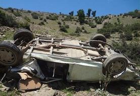 واژگونی خودرو در محور شهر بابک/ ۱۳ کشته و مصدوم
