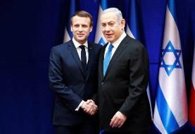 درخواست نتانیاهو از رئیسجمهور فرانسه برای تحریم ایران