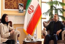 امیرعبداللهیان فشار مجلس مبنی برخروج ایران از NPT را گوشزد کرد