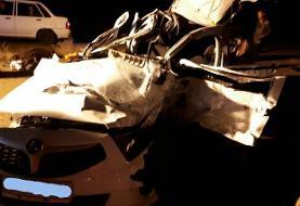 تصادف مرگبار در محور سمنان- دامغان