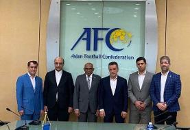 نامه رسمی AFC به باشگاه های ایرانی