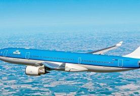 از سرگیری پروازهای کی ال ام هلند  بر فراز آسمان ایران و عراق