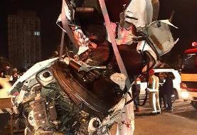 (ویدئو) تصادف مرگبار در اتوبان نیایش