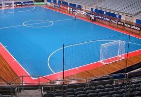 پیروزی تیم فوتسال زیر ۲۰ سال دختران ایران مقابل تاجیکستان